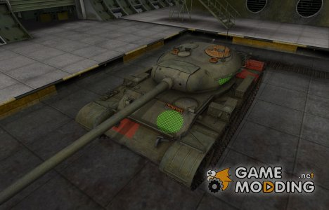 Зона пробития Т-54 для World of Tanks