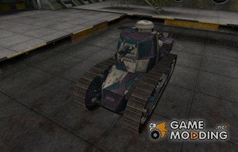 Исторический камуфляж Renault FT for World of Tanks
