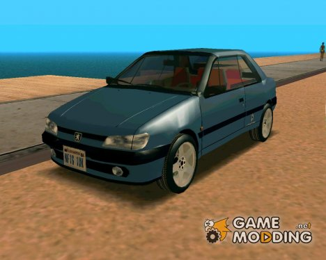 1995 Peugeot 306 for GTA San Andreas