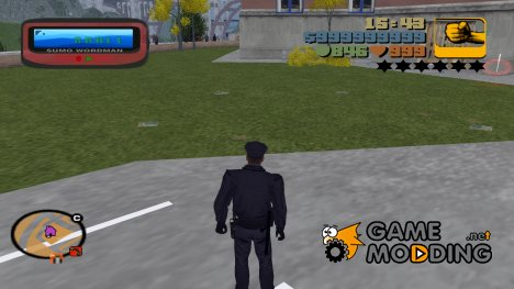 HD Pager for GTA 3