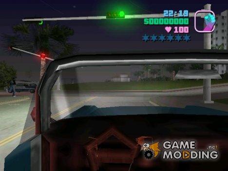 Вид из кабины for GTA Vice City
