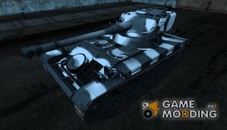 Шкурка для AMX 13 75 №23 for World of Tanks