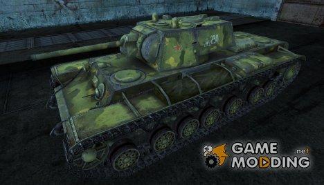 Шкурка для КВ-220 для World of Tanks