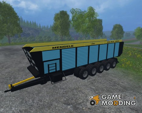 Mengele Silo Bull для Farming Simulator 2015
