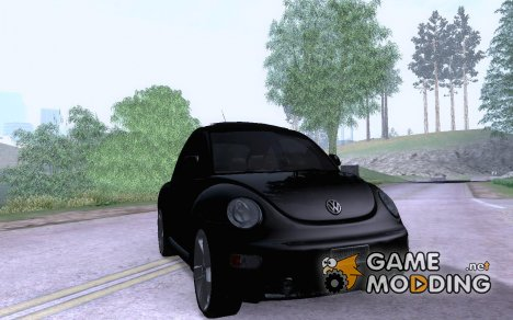 VW Beetle 2008 Edit для GTA San Andreas