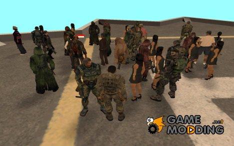 Пак S.T.A.L.K.E.R v4 for GTA San Andreas