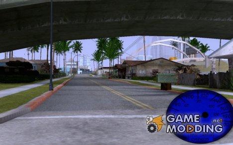 Обычный спидометр для GTA San Andreas для GTA San Andreas