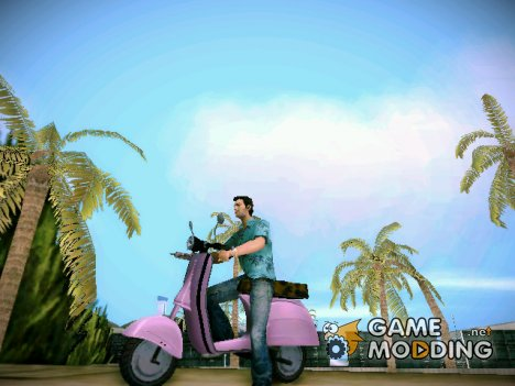 Faggio из GTA IV for GTA Vice City