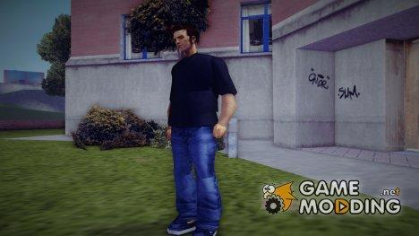 T-Shirt для Клода (Футболка) for GTA 3