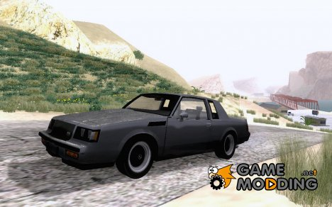 Buick Regal GNX 1987 for GTA San Andreas