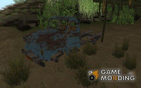 Старый, ржавый ГАЗ 53 for GTA San Andreas