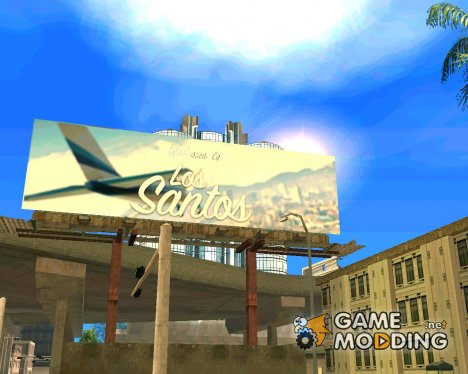 New billboards beta version for GTA San Andreas