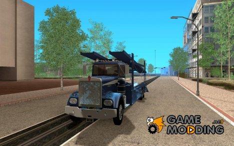 Kenworth Car Hauler для GTA San Andreas