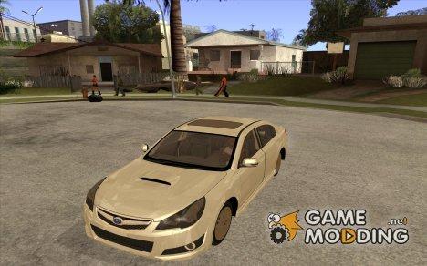 Subaru Legacy B4 2.5GT 2010 для GTA San Andreas