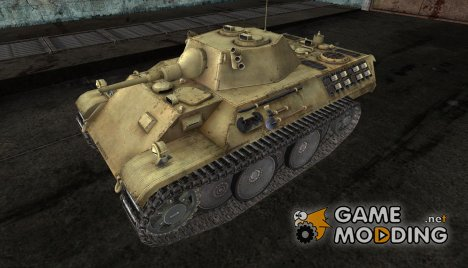 шкурка для VK1602 Leopard № 51 for World of Tanks