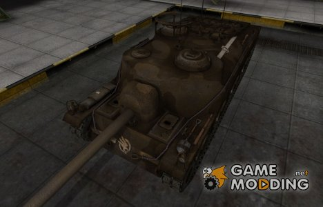 Скин в стиле C&C GDI для T28 для World of Tanks