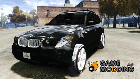 BMW X3 2.5Ti 2009 для GTA 4