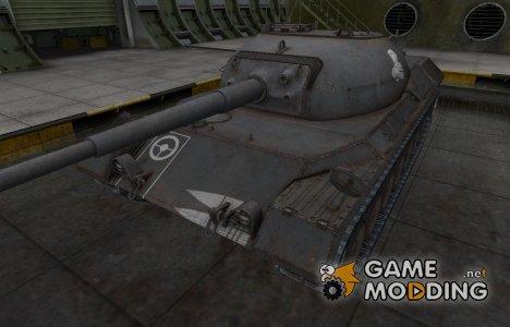 Зоны пробития контурные для Leopard prototyp A для World of Tanks