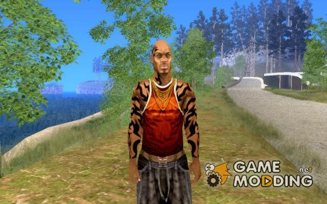 Скин  из игры Crime Life - Gang Wars для GTA San Andreas