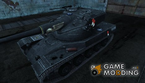 Шкурка для AMX 50B Вархаммер для World of Tanks