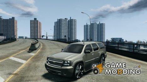 Chevrolet Tahoe tuning for GTA 4