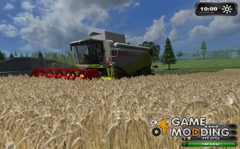 Claas Lexion 550 для Farming Simulator 2013