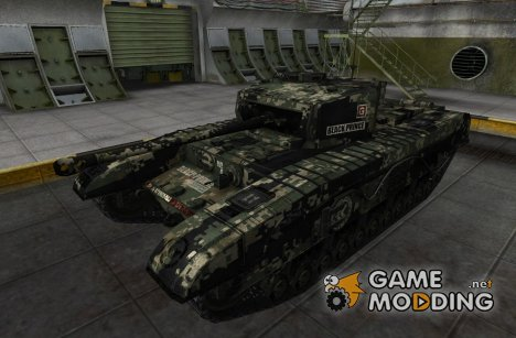Шкурка для Black Prince for World of Tanks