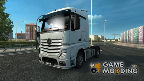 Mercedes Actros MP4 DHL Tandem for Euro Truck Simulator 2