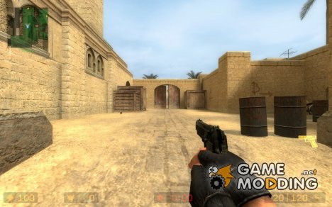 M9 Berreta For Glock for Counter-Strike Source