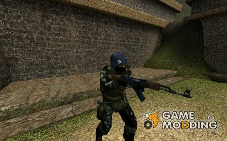 Brazilian's Army Skin для Counter-Strike Source