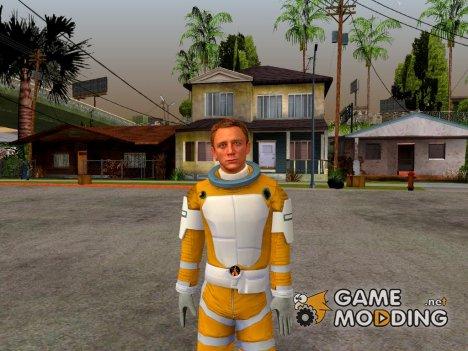 Daniel Craig Moonraker Outfit для GTA San Andreas