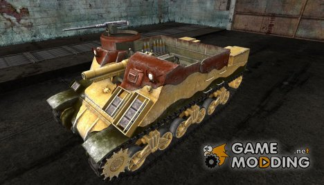 Шкурка для M7 Priest для World of Tanks