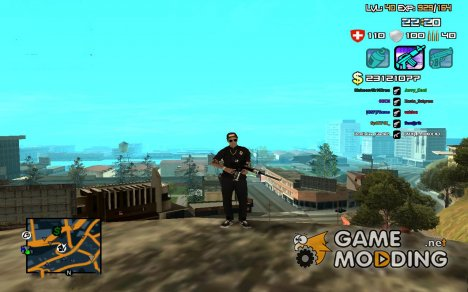 C-HUD by SampHack v.12 для GTA San Andreas