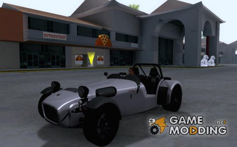 Caterham 7 Superlight R500 для GTA San Andreas