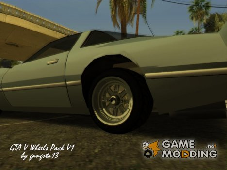 GTA V Wheels Pack V1 для GTA San Andreas