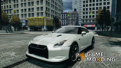 Nissan GTR R35 v1.0 for GTA 4